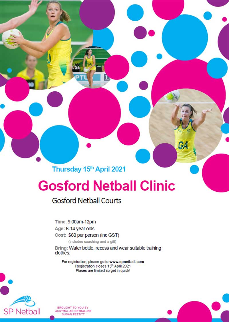 gosford netball clinic april2021